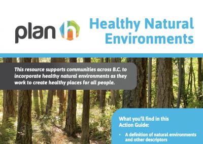 Healthy Natural Environments