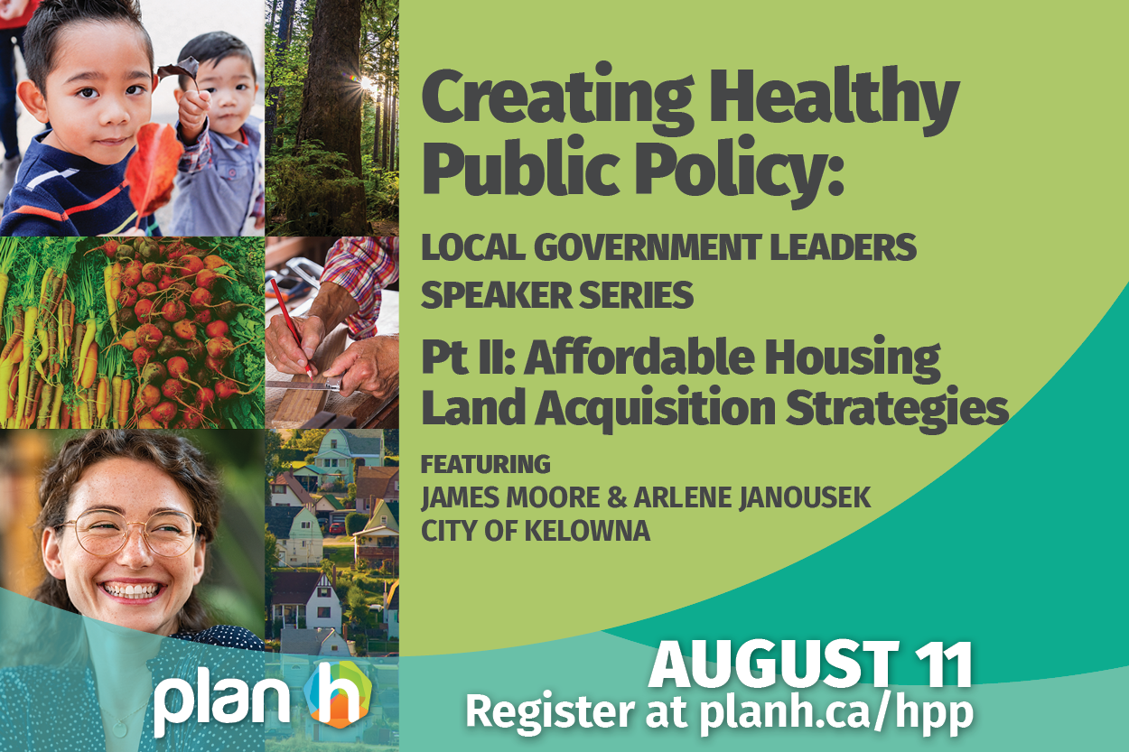Upcoming Event: Local Government Leaders Speaker Series – Affordable Housing Land Acquisition Policies