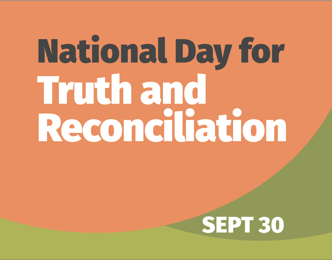Reflecting on equity, self-determination and reconciliation