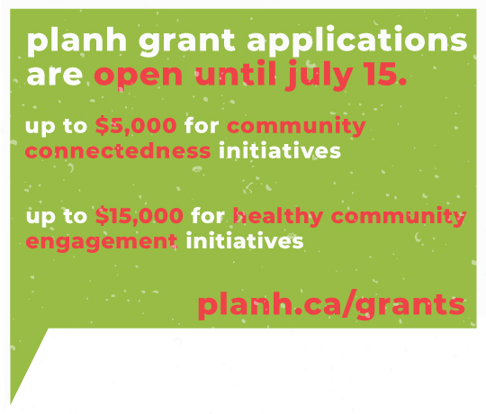 New grants provide funding for local governments for community connectedness and healthy community engagement