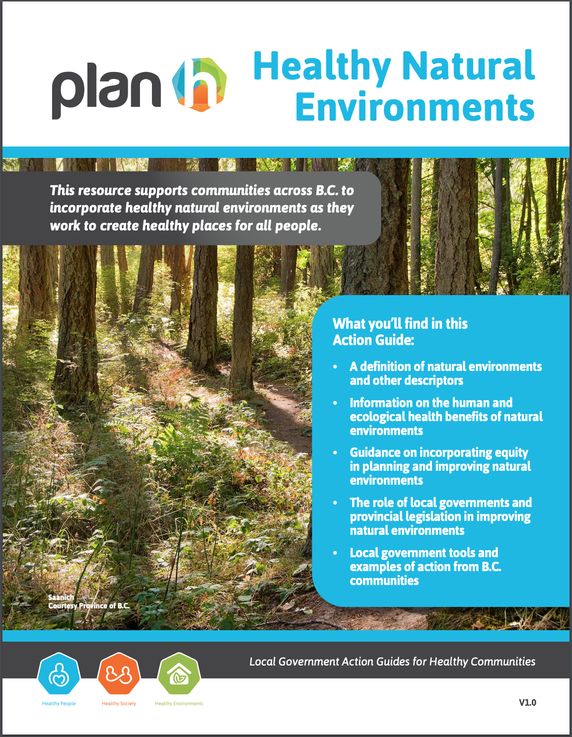 Healthy Natural Environments Action Guide released